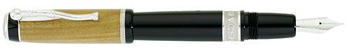Delta Limited Editions - Amerigo Vespucci - Year: 2009 - Wood/Sterling Silver/Black Resin - Edition: 931 Pens - Fountain Pen