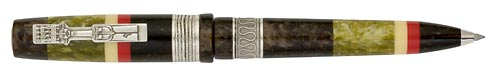 Delta Limited Editions - Indigenous People - Adivasi - Year: 2008 - Silver Trim - Edition: 1857 Pens - Rollerball/Ball Pen