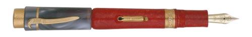 Delta Limited Editions - Cossacks - Year: 2004  - Vermeil Trim - Edition:  Pens - Fountain Pen (Lever Fill)-18 Kt Gold Nib