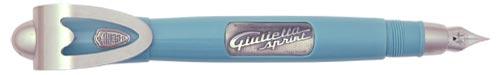 Delta Limited Editions - Guilietta Alfa Romeo - Year: 2004 - Silver Trim - Edition: 954 Pens - Fountain Pen (Piston Fill)-18 Kt Gold Nib
