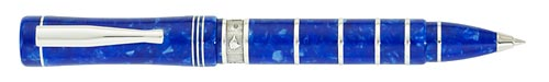 Delta Limited Editions - Charles Darwin - Year: 2009 - Blue/Silver - Edition: 809 Pens - Ball Pen