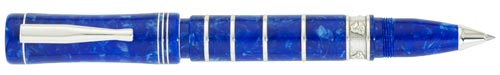 Delta Limited Editions - Charles Darwin - Year: 2009 - Blue/Silver - Edition: 809 Pens - Rollerball