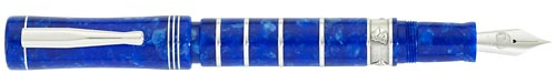 Delta Limited Editions - Charles Darwin - Year: 2009 - Blue/Silver - Edition: 809 Pens - Fountain Pen