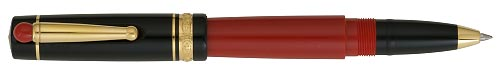 Red & Black finish - Capped Rollerball shown