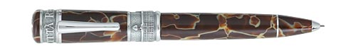 Delta Limited Editions - La Citta Reale - Year: 2006  - Celluloid/Silver Trim - Edition: 750 of each  - 0.9mm Pencil