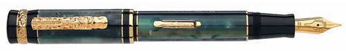 Delta Limited Editions - Hawaii Special Limited Edition - Year: 2012 - Green/Gold  - Edition: 898 Fountain Pens - Fountain Pen