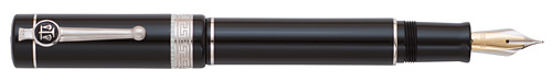 Black finish - Fountain Pen (18kt Fusion Nib) shown