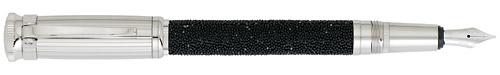 Dunhill Limited Editions - Sentryman Swarovski Crystal - Year: 2007 - Black Swarovski Crystal - Edition: 112 Fountain Pens Worldwide - Fountain Pen