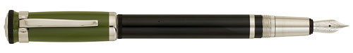 Dunhill Limited Editions - Sentryman Flying Scotsman - Year: 2008 - Green - Fountain Pen