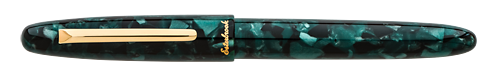 Evergreen with Gold Trim finish - Rollerball shown