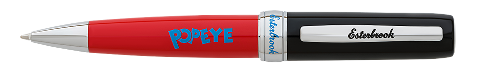 Esterbrook Limited Editions - Popeye - Year: 2018 - Red/Cap has Popeye Image - Edition: 250 - Ball Pen