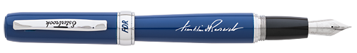 Esterbrook Limited Editions - F.D.R. - Year: 2019 - Blue - Edition: 200 - Fountain Pen