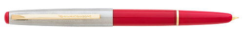 Signal Red  finish - Fountain Pen shown