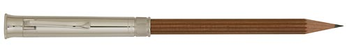 Platinum Plated/Brown Pencil finish - Pencil shown