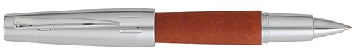 Pear Wood /Polished Chrome finish - Rollerball shown
