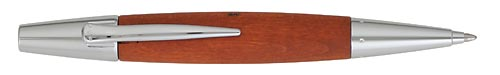 Pear Wood /Polished Chrome finish - Ball Pen shown