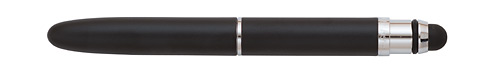 Black Matte finish - Ball Pen with Stylus w/o Clip shown