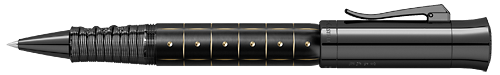 Graf von Faber-Castell Limited Editions - 2019 Pen of the Year - Year: 2019 - Samurai Black Edition  - Edition: 100 Rollerballs - Rollerball