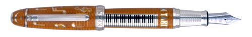 Krone Limited Editions - Duke Ellington - Year: 2004 - Sterling & Enamel - Edition: 288 Fountain Pens/28 Rollerballs - Fountain Pen