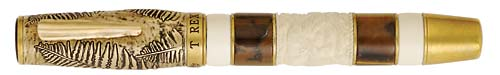Krone Limited Editions - Tyrannosarus Rex - Year: 2007 - Bronze - Edition: 188 Fountain Pens - Fountain Pen