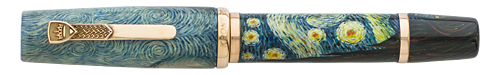 Krone Limited Editions - Vincent van Gogh - Year: 2015 - Hand Painted   - Edition: 188 Fountain Pens - Fountain Pen