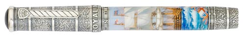 Krone Limited Editions - Royal Navy - Year: 2010 - Edition: 38 Rollerballs - Rollerball
