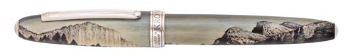 Krone Limited Editions - John Muir - Year: 2013 - Sterling Silver - Hand Painted - Edition: 888 Rollerballs - Rollerball