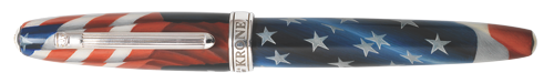 Krone Limited Editions - Ronald Reagan - Year: 2016 - Red, White, and Blue - Edition: 888 Rollerballs - Rollerball