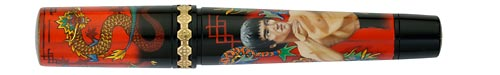 Krone Limited Editions - Bruce Lee - Year: 2011 - Edition: 28 Fountain Pens - Fountain Pen