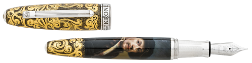 Krone Limited Editions - Rembrandt - Year: 2018 - Hand Painted (Late November Release) - Fountain Pen
