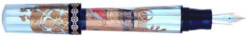 Krone Limited Editions - Shogun - Year: 2001 - Maki-e over Mother-of-Pearl - Edition: 80 Fountain Pens - Magnum Fountain Pen