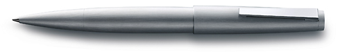 Brushed Steel finish - Rollerball shown