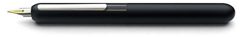 Matte Black Retractable finish - Fountain Pen (14kt Gold Nib) shown