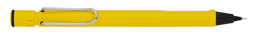 Yellow finish - Pencil 0.5mm shown