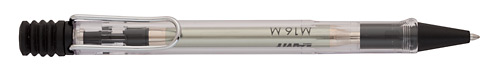Vista Clear  finish - Ball Pen shown
