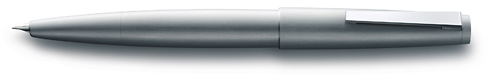 Brushed Steel finish - Fountain Pen shown