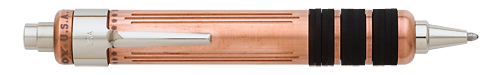 Fatboy New York Solid Copper finish - Ball Pen shown