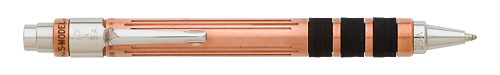 New York Solid Copper finish - Ball/Gel Pen shown