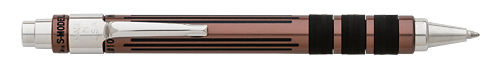 Michaels Fatboy Limited Editions - Fountain Pen Hospital S-Model Exclusive - Year: 2017 - Dark Copper on Aluminum - Edition: FPH Exclusive - Gel/Ball Pen