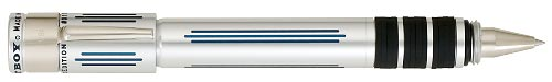 Michaels Fatboy Limited Editions - New York - Year: 2007 - Silver & Blue - Edition: 500 Pens/Laser Engraved - Rollerball