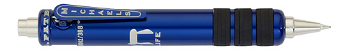 Blue   finish - Pencil 0.7mm shown