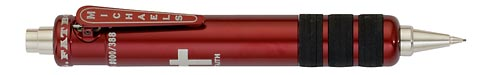 Red finish - Pencil 0.7mm shown