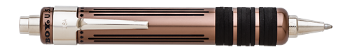 Michaels Fatboy Limited Editions - Fountain Pen Hospital New York Exclusive - Year: 2016 - Dark Copper on Aluminum - Edition: 50 Pens - Gel/Ball Pen