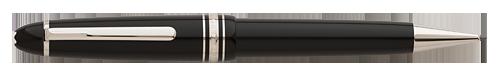 Montblanc - Meisterstuck - Platinum Trim - Black with Platinum Trim  LeGrand Pencil 0.9mm (#07572 )