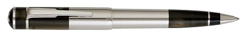 Montblanc Limited Editions - William Faulkner - Year: 2007   - Silver/Brown - Edition: 18,000 - Ball Pen