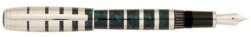 Montblanc Limited Editions - George Bernard Shaw - Year: 2008 - Black/Green - Fountain Pen