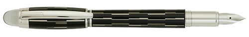 Black Lacquer/Platinum  Plated finish - Fountain Pen  (Reg: $705) shown