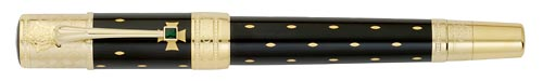 Montblanc Limited Editions - Queen Elizabeth I - Year: 2010 - Black/Gold - Fountain Pen