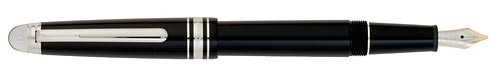 Black/Diamond finish - Classique Fountain Pen shown