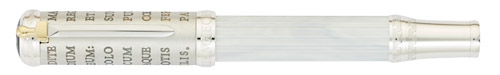 Montblanc Limited Editions - Gaius Maecenas - Year: 2011 - Silver/Marbled Lacquer - Edition: 4810 Pens - Fountain Pen